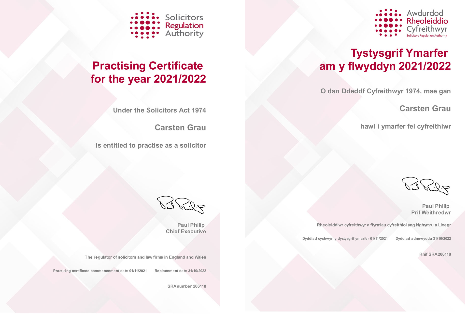 carsten-grau-practising-certificat-2021-2022